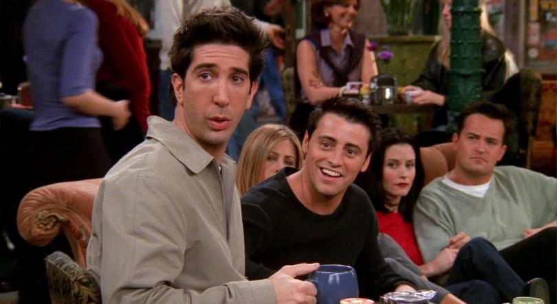 Friends Ross Joey