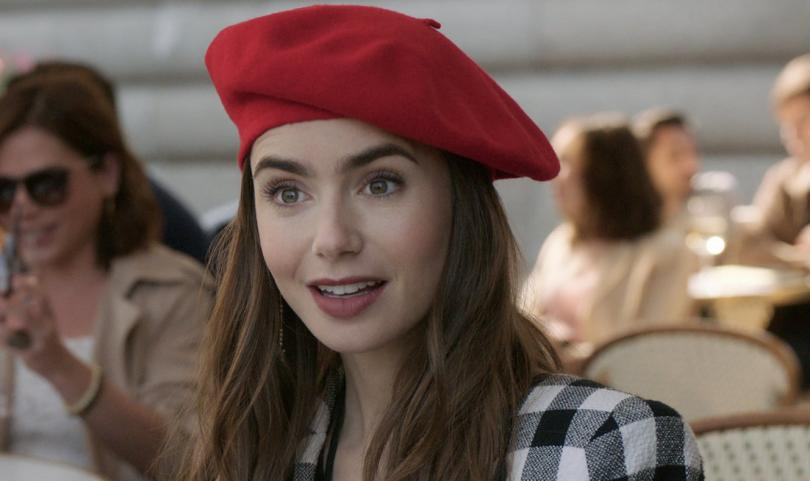 Lily Collins is Emily in Paris