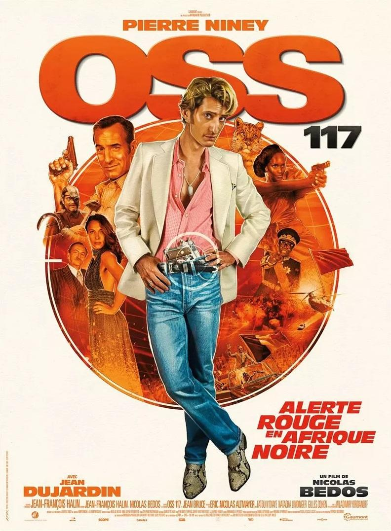 Pierre Niney is embedded in OSS 117 3 (poster)