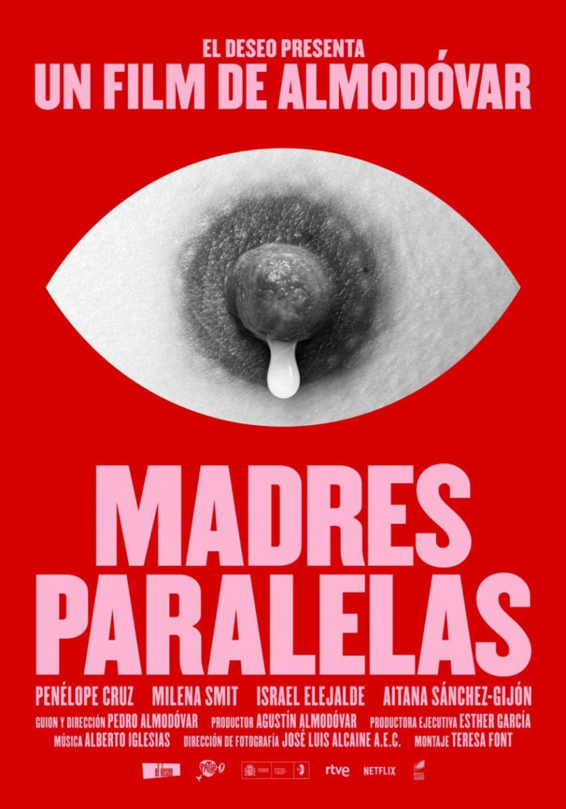 Madres Paralelas: the poster