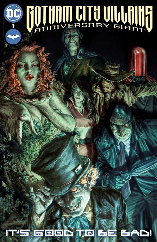 Gotham City Villains Anniversary Giants