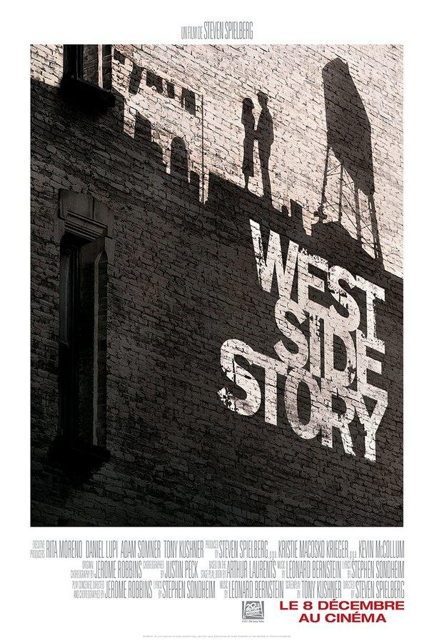 West Side Story, by Steven Spielberg - poster