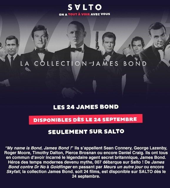 James bond salto