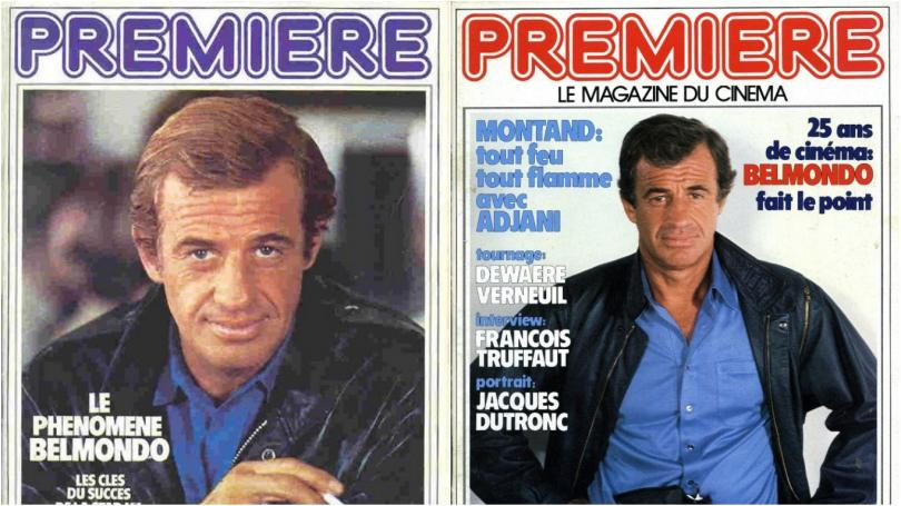 Belmondo and Premiere