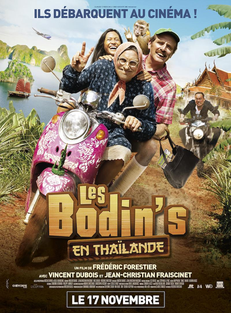 The Bodins in Thailand - Poster